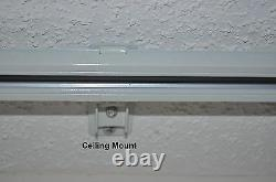 10' New Version Remote Electric Motorized window Curtain DIY track CL200T3M