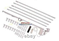 20' 6meter Remote Control Electric Motorized window Curtain track Rod