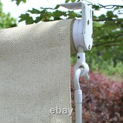 Outdoor Window Shade Exterior Solar Roll Up Patio Curtain Screen Treatment Blind