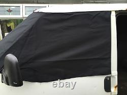 T4 Screen Cover Curtain Wrap Frost Black Blind Eyes Red VW Window