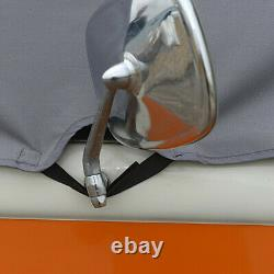 Vw T2 Bay Window Camper Screen Curtain Wrap Frost Cover Grey 116